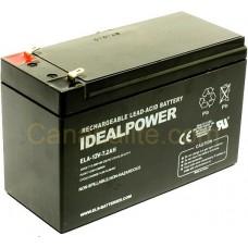Emergency Light Battery - ELA-12V-7.2AH - 12 Volt - 7.2Ah Capacity  - Rechargeable Sealed Lead Acid Battery