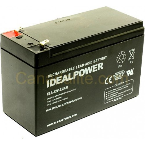 Emergency Light Battery - Ela-12v-7 2ah - 12 Volt