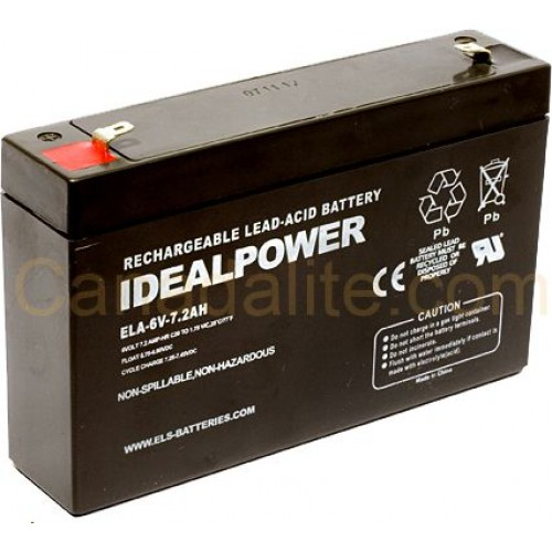 6v 2ah sealed lead acid rechargeable battery jump