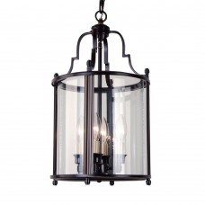 Bethel International- AB01BR - 4-Light Bronze Ceiling Lantern