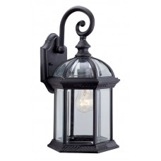 "DVI Lighting - OCA140800 - 1-Light  15.5"" Outdoor Wall Sconce -  Black"