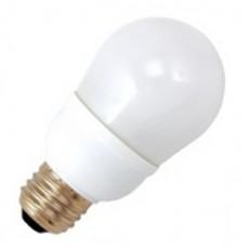 9 Watt - 2700K / Warmwhite - A16 CFL - 120V - Medium E26 Base - SL9/O/A16/ES/827 - Symban