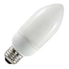 5 Watt - Chandelier Shape - B13 CFL - 2700K / Warmwhite - 120V - Medium (E26) Base  - SL5/O/B13/ES/827 - Symban