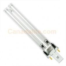9 Watt - Single Tube - 2 Pin G23 Base - Compact Germicidal Lamp - Plug-in CFL - CFL9S /TUV - Major