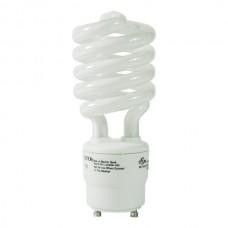 USHIO 3000550 - CF26CLT/2700/GU24 - 26 Watt - 100W Incandescent Equal -  Spiral CFL  - 2700K / Warmwhite - GU24 Base