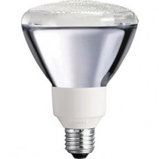 Philips - 20 Watt - Energy Saver - Dimmable PAR38 Reflector Flood CFL - 2700K / Warmwhite -  EL/A PAR38 DIM20/ALTO