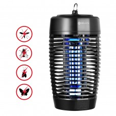 YUNLIGHTS 18W Electric Insect Killer Weather Resistant Indoor and Outdoor US Plug Black - UP20