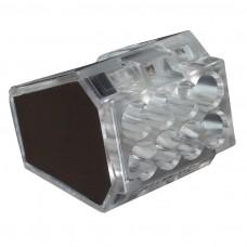 13-PC8 - Gardner Bender - Black 8-Port PushGard™ Push-in Wire Connector