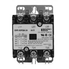 Sprecher + Schuh CDP2-B3P30A-120 Definite Purpose Contactors 30AMP 3POLE 120VAC