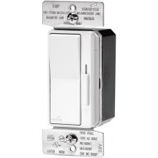 Cooper Wiring Devices DI06P-W 600-Watt Decorator Dimmer with Preset, White