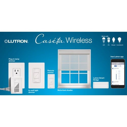 Lutron P Pkg1w Wh C Cas 233 Ta Wireless In Wall Dimmer With