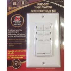 ELECTRMART 40093 - Pre-Set Time Switch - 800W Max - 120 VAC
