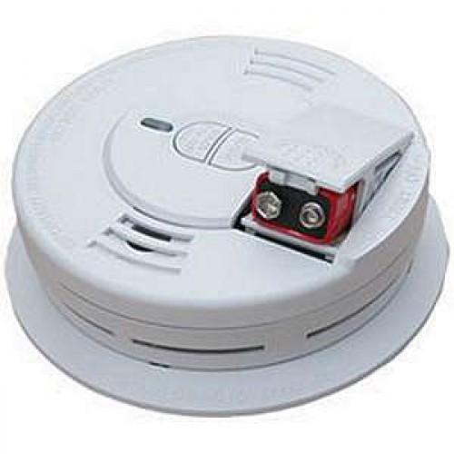 kidde 0976ca smoke alarm ionization test hush front loading 9v battery backup model. Black Bedroom Furniture Sets. Home Design Ideas