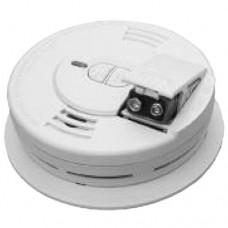 Kidde P1276CA - Smoke Alarm - ProSeries Ionization - Test & Hush - 120V Hardwire with Front Load Battery Backup [ Model  i12060ACA & i12060CA ]
