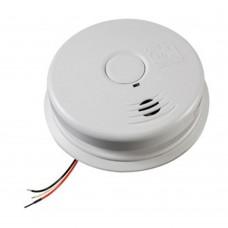 Kidde i12010SCA - Smoke Alarm - Ionization - 120V AC Wire-in Smoke Alarm with 10 Year Worry-Free Sealed Lithium Battery Backup