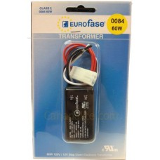 Electronic Transformer - Eurofase 0084 - Halogen Transformer - 12V Transformer - 12V 60W AC Class 2 Transformer **Discontinued and Not Available**