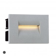 Eurofase 31590-013  3.6W LED OUTDOOR IN-WALL MARINE GREY 3000K