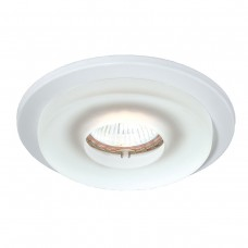 Eurofase 19161-57  TRIM,4IN ROUND FROSTED GLASS WHITE