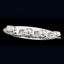 Eurofase 26352-015- Buca Collections - 4-Light Wall Sconce - Chrome w/ Clear Crystal Glass - G9 Bulb - 120V