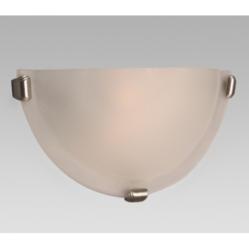 Wall Sconce Frosted Glass : Galaxy-Lighting - 208612PT/FR - Wall Sconce with Frosted Glass
