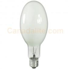150 Watt -  High Pressure Sodium Bulb - ED23.5 - Diffuse - Mogul (E39) Base - ANSI S55 - LU150/D/ED23.5 - Major Brand