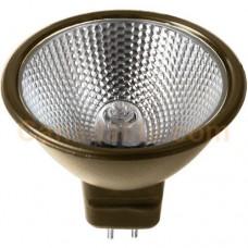 Ushio 1003541 - EXN/BZ/FG - Superline™ Reflekto™ -  50W - MR16 - Flood 36° - Bronze Coated Backing - Glass Face - 12 Volt - JR12V-50W/FL36/BZ/FG,Bronze**Discontinued and Not Available**
