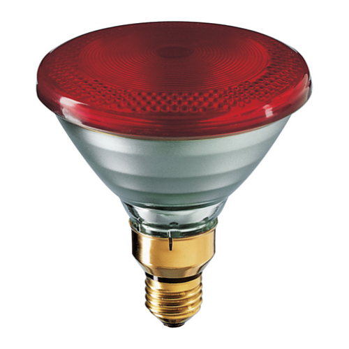 175w Par38 Red Infrared Heat Lamp 120 Volt Ir175r Par