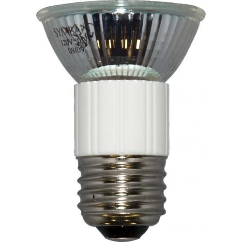 Exn E26 Bulb 50w 120v Medium Base Halogen Mr16 Flood: Medium (E26