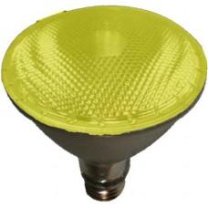 75W - Yellow - PAR30 Long Neck - Flood - Halogen - 130 Volt - 75PAR30LN/HAL/FL/YELLOW