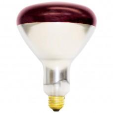 250 Watt - Red- BR40 - Infra-Red  Heat Lamp - 250BR40/ 10 / RED - Symban