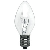 5W C7 Christmas lights- Clear - 5C7/CAN/CL