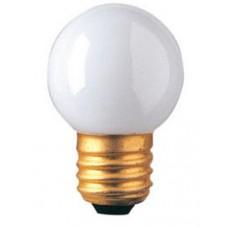 7.5 Watt - White - G11 Globe Bulb - Medium Base E26 - 7.5G11/MED/WH