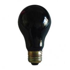 75W - Black Light - A19- 130V Medium (E26) Base - 75A19/BLK