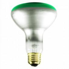 75 Watt - BR30 - Transparent Green -  130Volt - 75BR30/TG - Symban