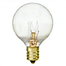 25 Watt - Clear - G13 Bulb - Candelabra (E12) Base - 25G13/CAN/CL