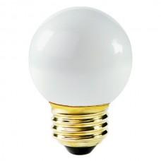 25 Watt - White - G16 Bulb - Medium Base E26 - 25G16/MED/WH