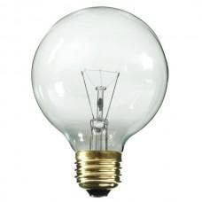 25 Watt - Clear - G25 Bulb - Medium Base E26- 25G25/CL