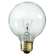 25 Watt - Clear - G30 Bulb - Medium Base E26 - 25G30/CL [Item is delisted. See 25G30/WH for a substitute]