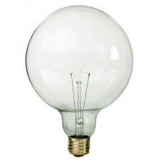 60 Watt - Clear - G40 Globe Bulb - Medium Base E26 - 60G40/CL