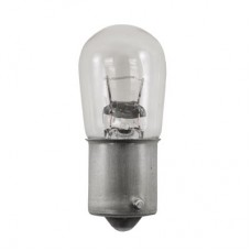 105 Mini Indicator Lamp - B6 Bulb - 12.8 Volt - 1.0 Amp. - Single Contact Bayonet Base (BA15s)