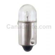 3796 Mini Indicator Lamp - T2.75 Bulb - 12 Volt - 0.17 Amp. - Miniature Bayonet Base (BA9s)