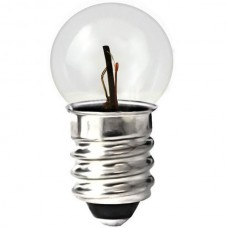 502 Mini Indicator Lamp - G4.5 Bulb - 5.1 Volt -  0.15 Amp. - Miniature Screw (E10) Base