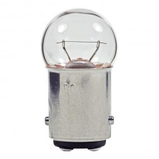 1224 Mini Indicator Lamp - G6 Bulb - 34 Volt - 0.16 Amp. - Double Contact Bayonet Base (BA15d)