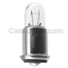 7333 Mini Indicator Lamp - T1.75 Bulb - 5 Volt -  0.06 Amp. - SC Midget Flanged Base (SX6s)