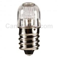 B7A(NE-45) -  Miniature Indicator Lamp - T4.5 Bulb - 105-125 Volt - 0.02 Amp. - Candelabra Screw Base(E12)