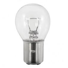 312 Mini Indicator Lamp - S11 Bulb - 28 Volt -  1.29 Amp. - DC Bayonet Base (BA15d)