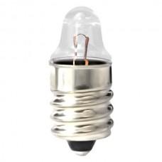 112 Mini Indicator Lamp - TL3 Bulb - 1.2 Volt -  0.22 Amp. - Miniature Screw (E10) Base