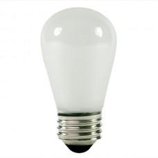 11 Watt - Frosted -S14 Sign lamp - Medium (E26) Base   (11S14/IF)