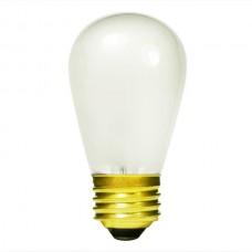 11 Watt - Ceramic White -S14 Sign lamp - Medium (E26) Base - 11S14/CW