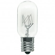 25W - Clear - T8 Tubular - Exit Lamp - Candelabra (E12) Base - 25T8/CAN/CL/130V
